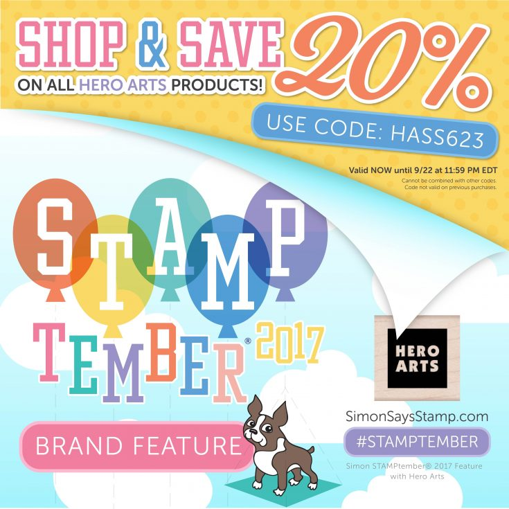 Hero Arts STAMPtember Feature