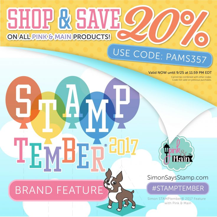 Pink and Main STAMPtember Feature