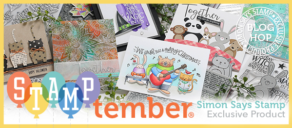 Thank You For Joining Us Today An Inspiration Filled Blog Hop Of Fun We Are Focusing On Our Newest Release Simon Says Stamp Exclusive Products