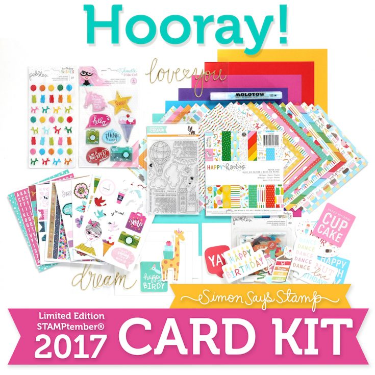 STAMPtember Limited Edition Kit Hooray