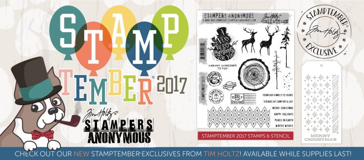 Tim Holtz STAMPtember Exclusive