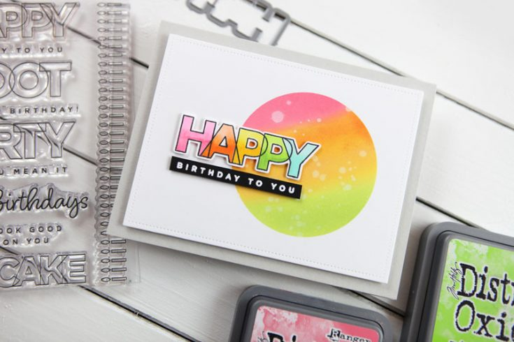 Happy Birthday to You... Brand NEW from CZ Design!