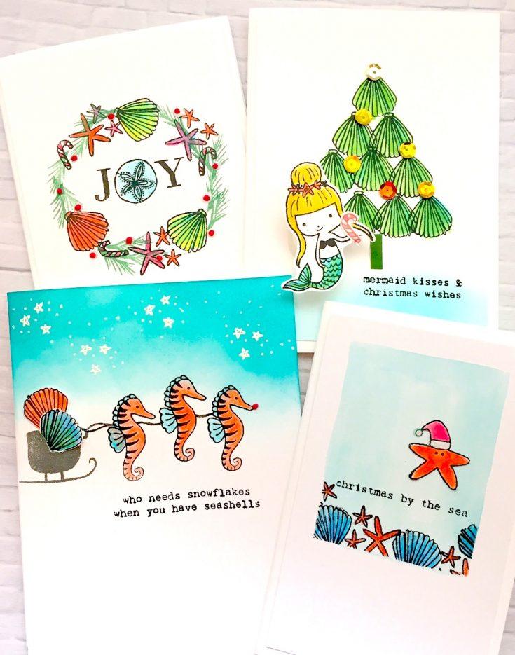 Flora and Fauna: Christmas by the Sea - Simon Says Stamp Blog