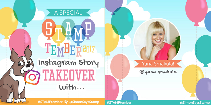 Simon Says Stamp STAMPtember Instagram Story Takeover