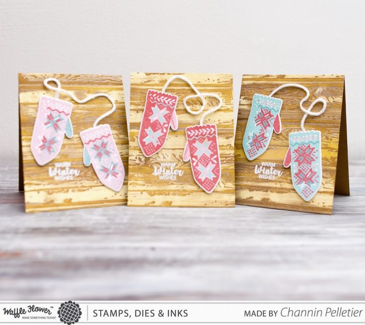 Warm Winter Wishes with Channin from Waffle Flower Crafts