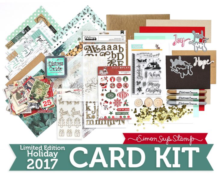 Mint Wishes Card Kit
