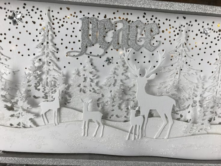 A Tim Holtz Winter Wonderland by Richele Christensen