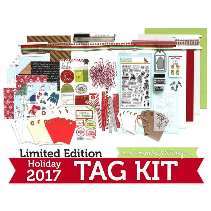 Limited Edition Simon Says Stamp HOLIDAY TAG KIT Christmas 2017 ssshtk17