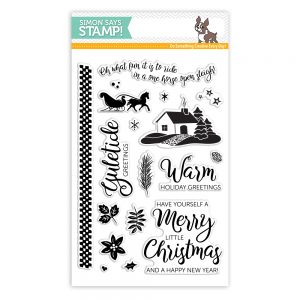 Yuletide Holiday Clear Stamps