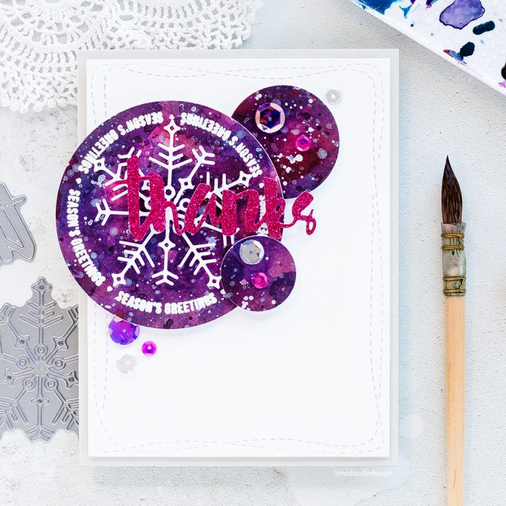Doodling with Debby: Winter Thanks