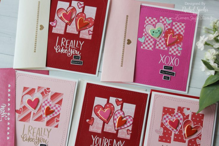 January 2018 Card Kit: Set of 5 Inlay Cards