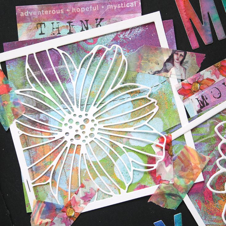 Shari Carroll, Art Journaling, Simon Brand dies