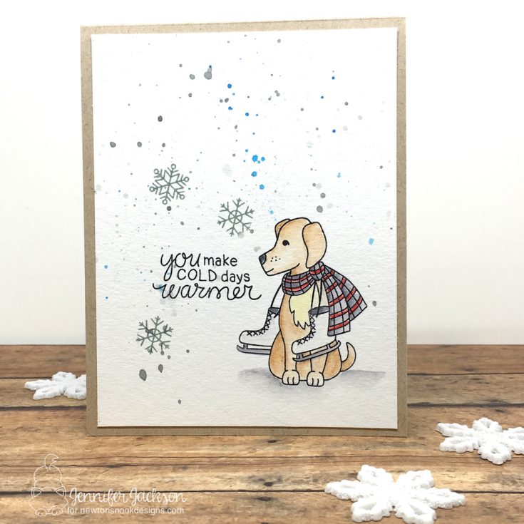 Newton's Nook: WInter Woof