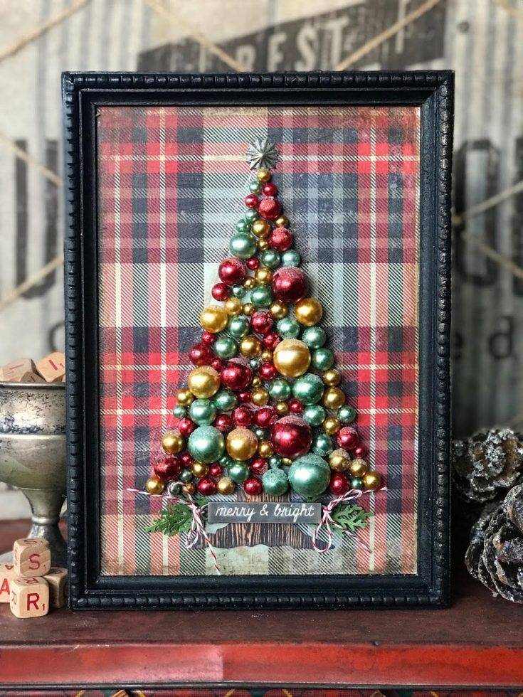 Tim Holtz Bauble Tree by Paula Cheney!