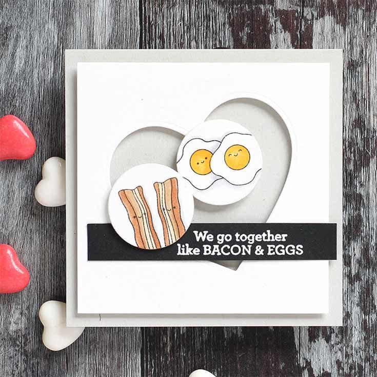 Simon Say Stamp Love Release Blog Hop Breakfast Buddies Shari Carroll