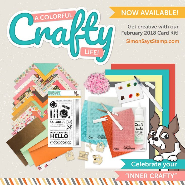We Hope You Enjoy Are Brand New JAM PACKED February 2018 A Colorful Crafty Life Card Kit Were Back With The Always Creative And Amazing Nichol