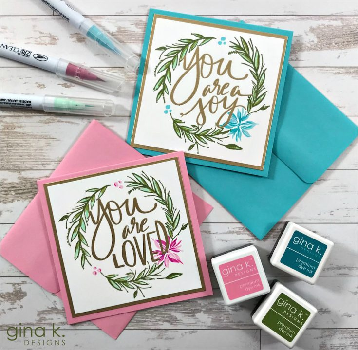 NEW RELEASE ALERT: Gina K Designs!
