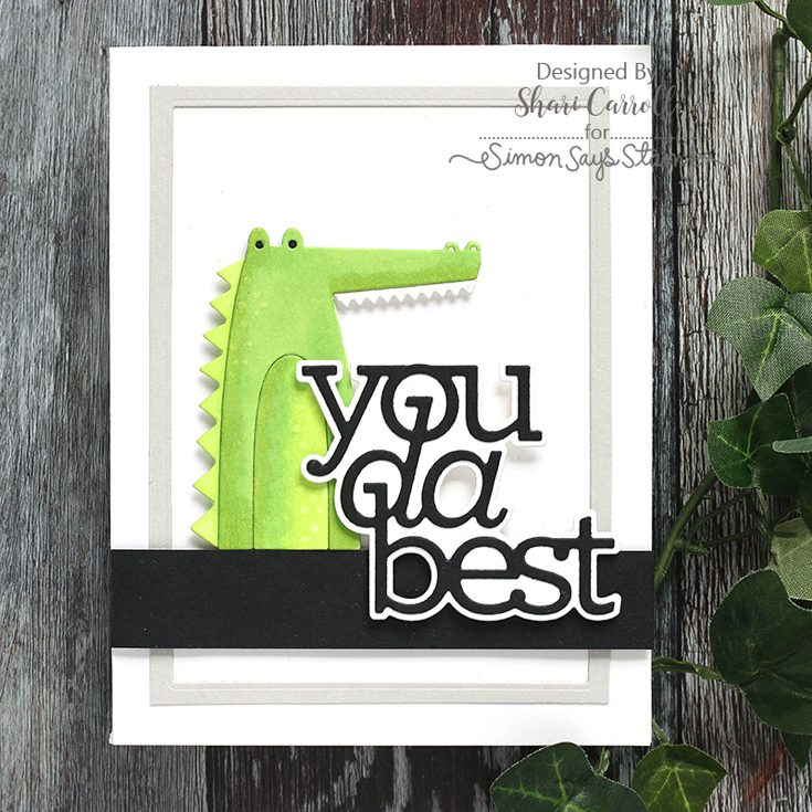 Simon Says Stamp Best Days Release Shari Carroll Picture Book Croc