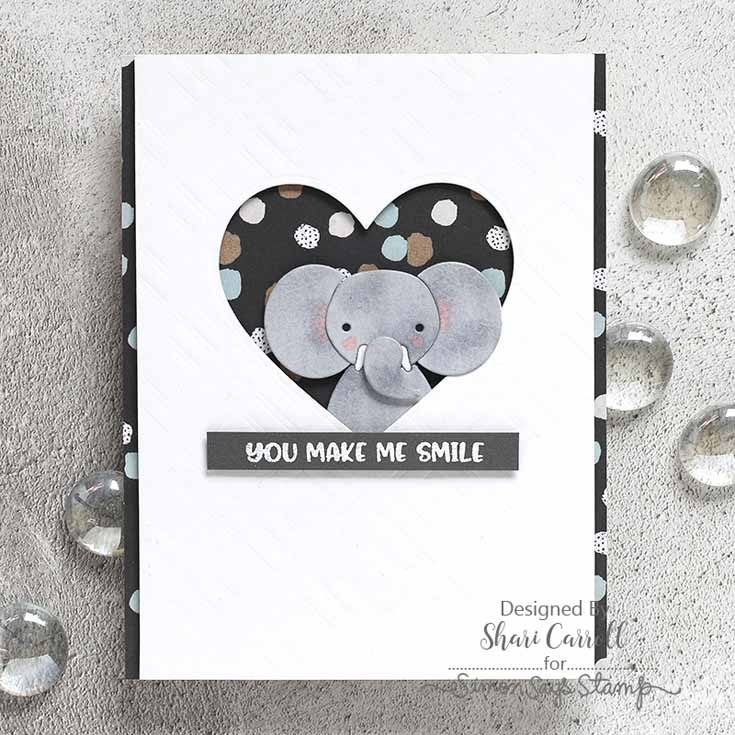 Simon Says Stamp Friends Release Shari Carroll Picture Book Elephant