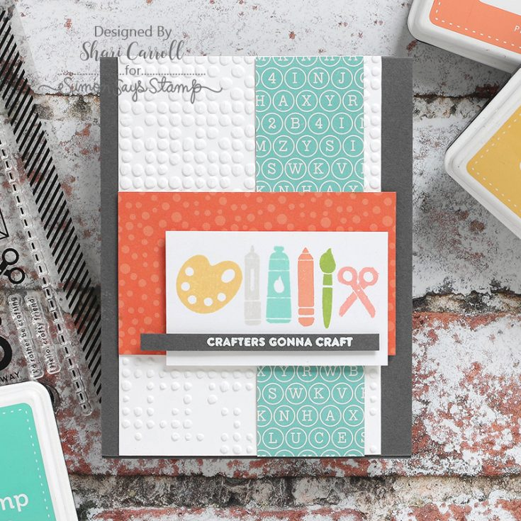 Shari Carroll, February Card Kit