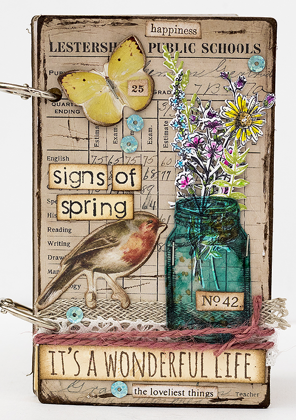 Signs of Spring Notebook