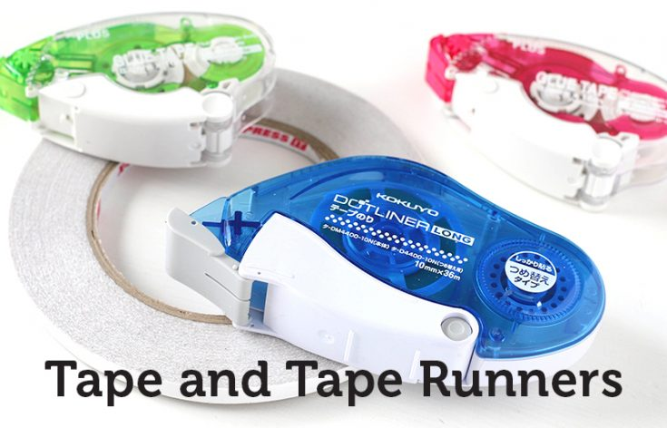 Tape Runners, Adhesives, Tape, Shari Carroll