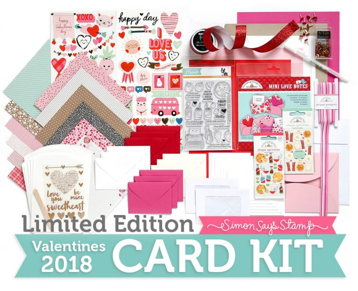 Limited Edition Valentine Card Kit