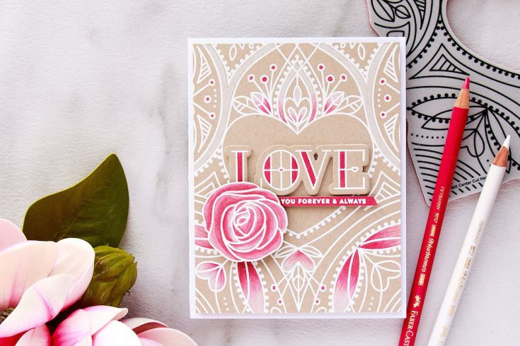Yippee for Yana: Center Cut Heart Love Card