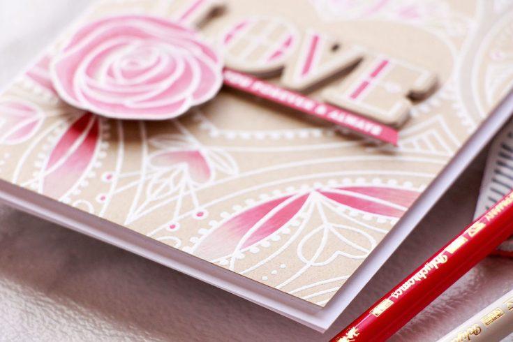 Yippee for Yana: Center Cut Heart Love Card