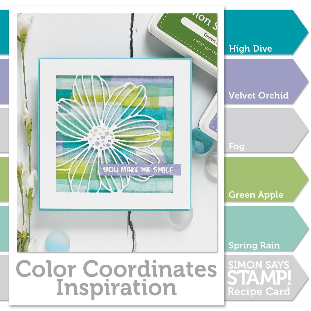 Color Coordinates: Spring Rain - Simon Says Stamp Blog