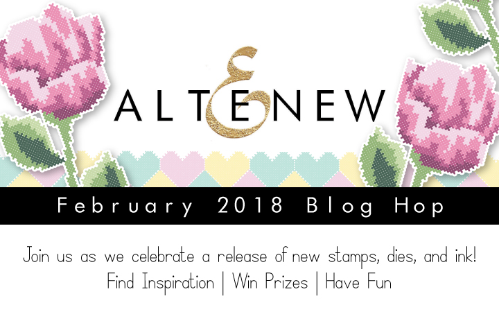 Altenew February blog hop