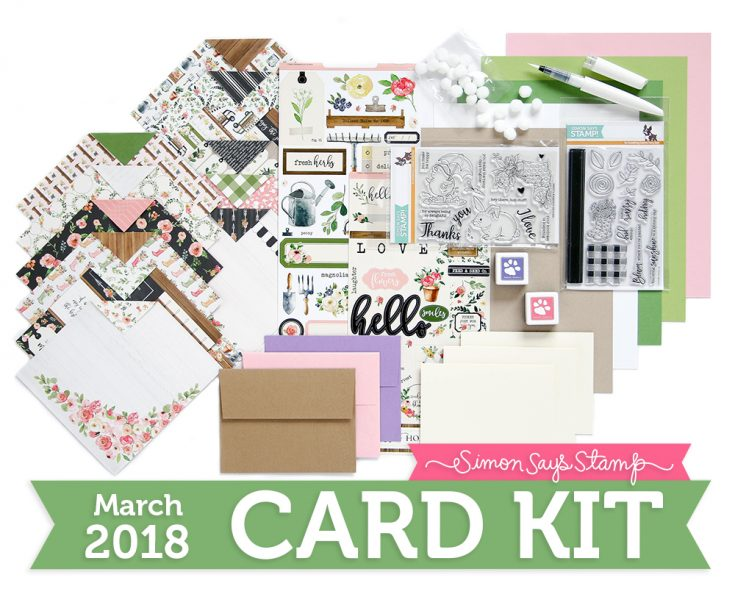 March Card Kit, Reveal