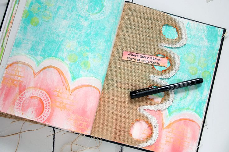 Shari Carroll, Art Journaling