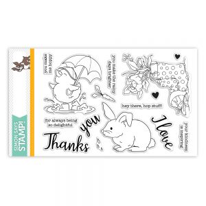 Showers and Flowers, SSS Clear stamps, sss101822
