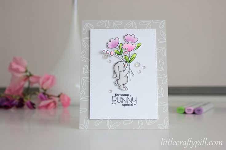 Amanda Korotkova Simon Says Stamp April Throwback Thursday Some Bunny Special stamp set Artsy Flower Parts stamp set