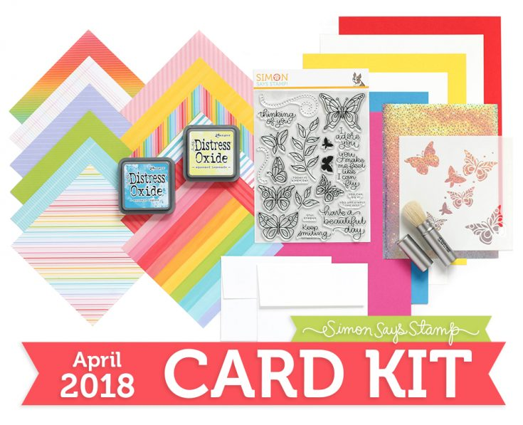 April 2018 Card Kit Reveal