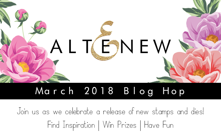Altenew March Release, Hop, Shari Carroll