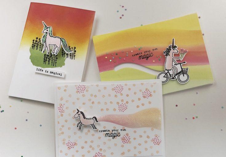 Flora & Fauna Unicorn Trio