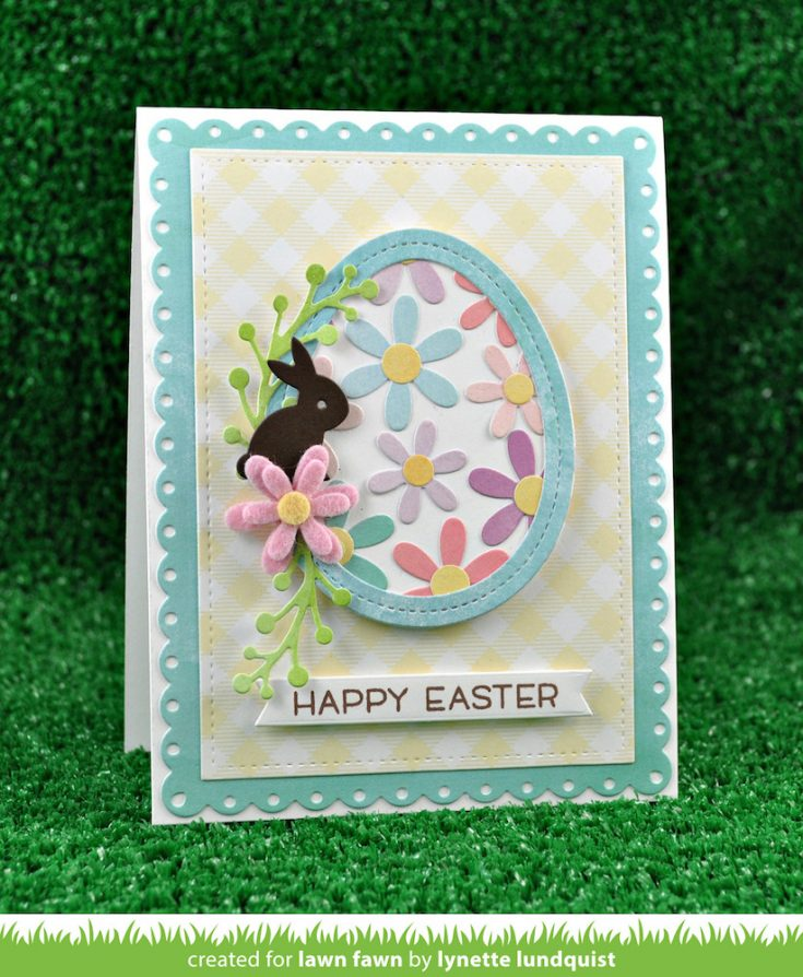 Die Cut Easter Card