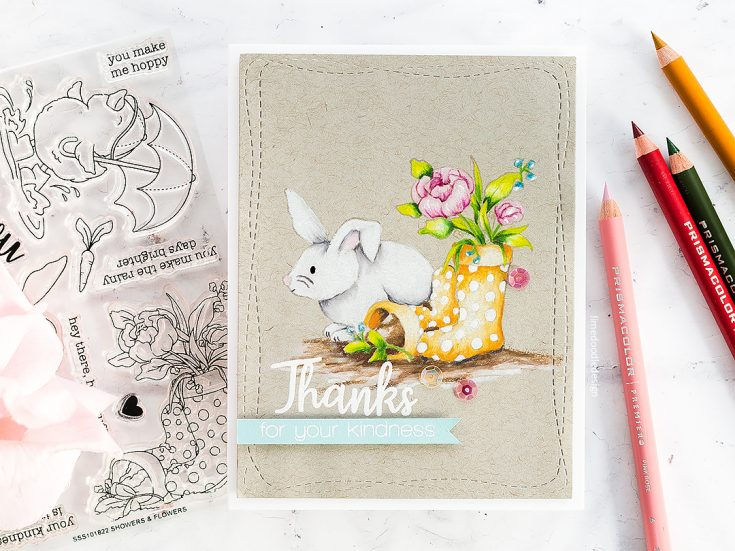 Doodling with Debby: Spring Pencil Coloring on Kraft