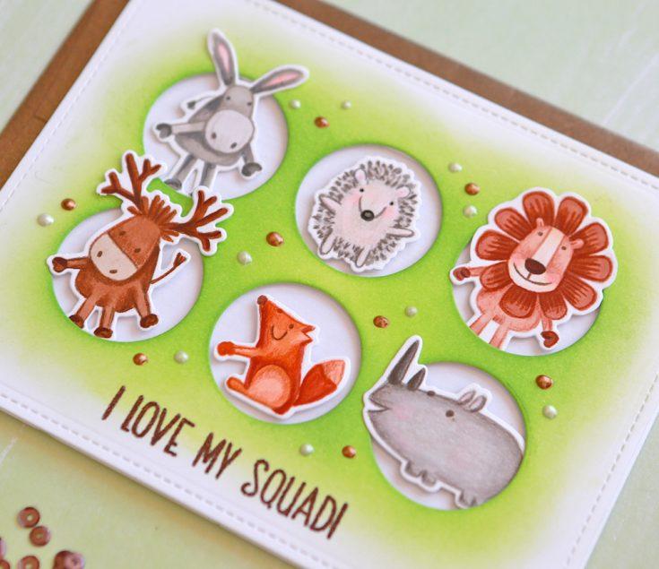One Stamp 5 Ways: Best Friends