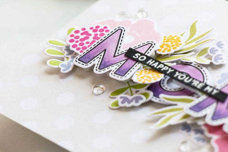 Yippee for Yana: Floral Card for Mom