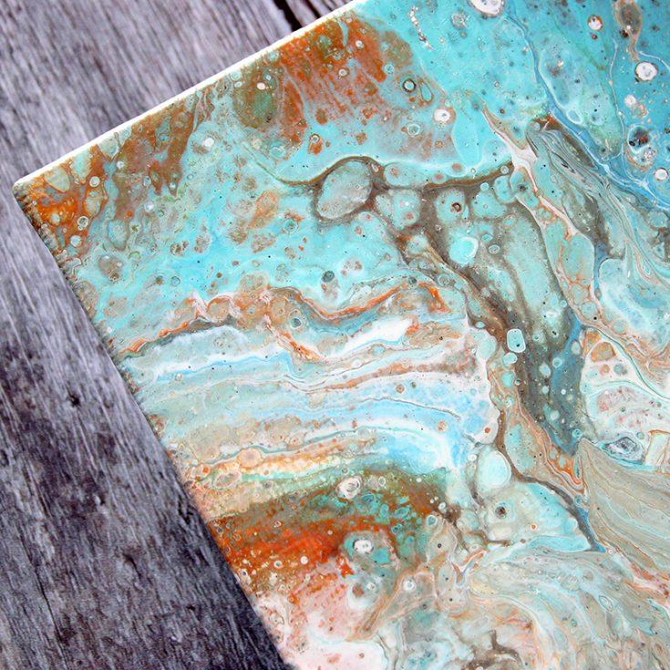 Shari Carroll, Acrylic Pour