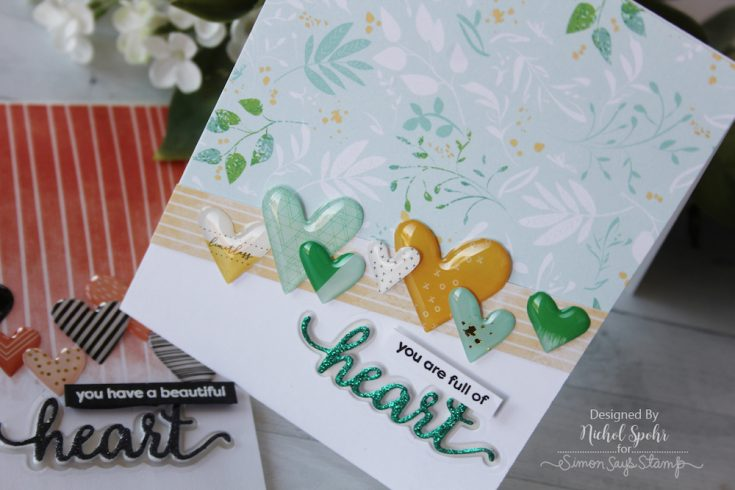 Fun Foam Inlay Heart Greeting
