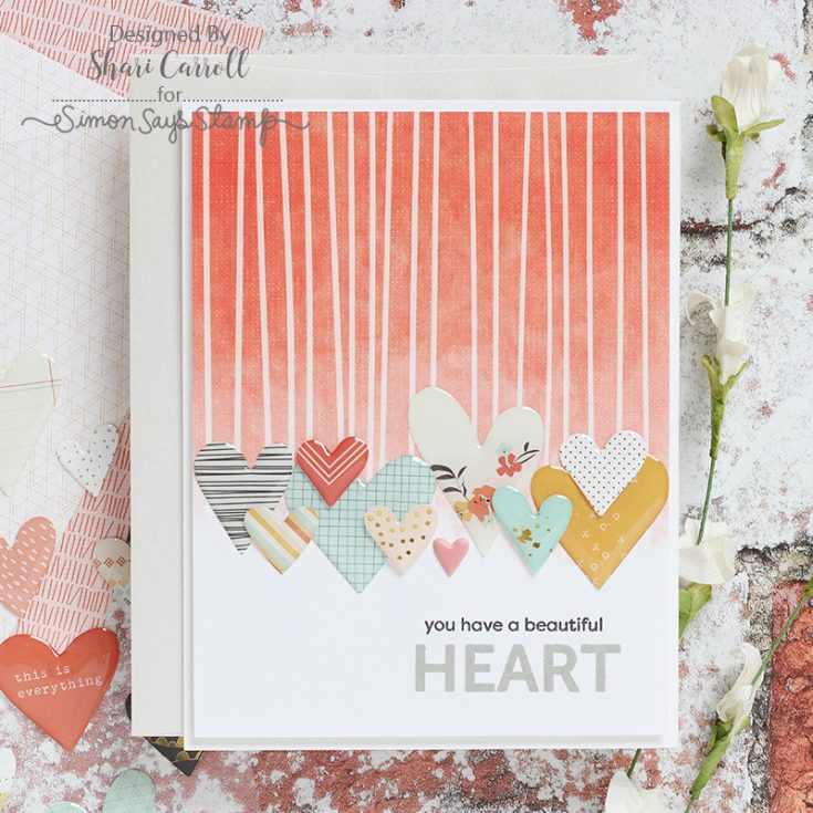 May Card Kit, Kind Heart, Shari Carroll