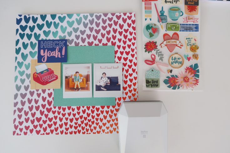 National Scrapbooking Day with Amy Tangerine