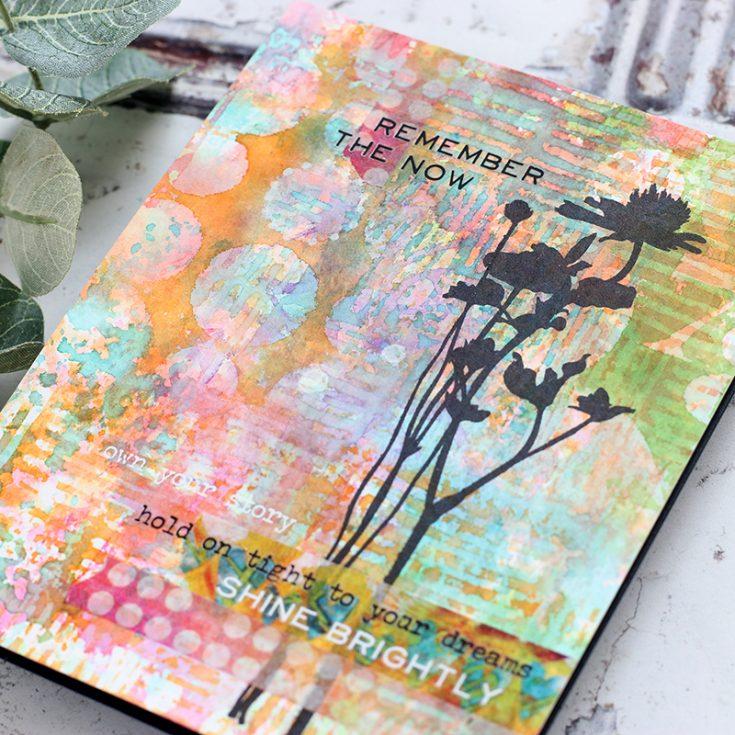 Art Journal Style Cards, Shari Carroll, Tim Holtz