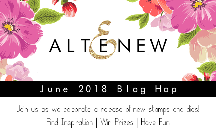 Shari Carroll, Altenew, Blog Hop