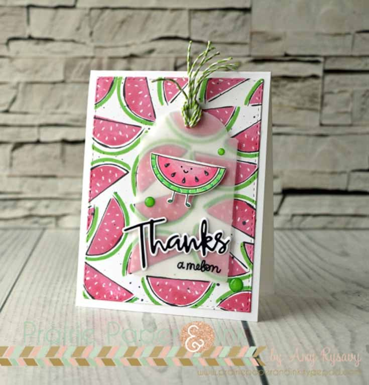 Amy Rysavy Simon Says Stamp June Throwback Thursday Artsy Fruits stamp set