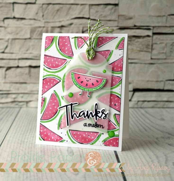 Amy Rysavy Simon Says Stamp June Throwback Thursday Artsy Fruits stamp set